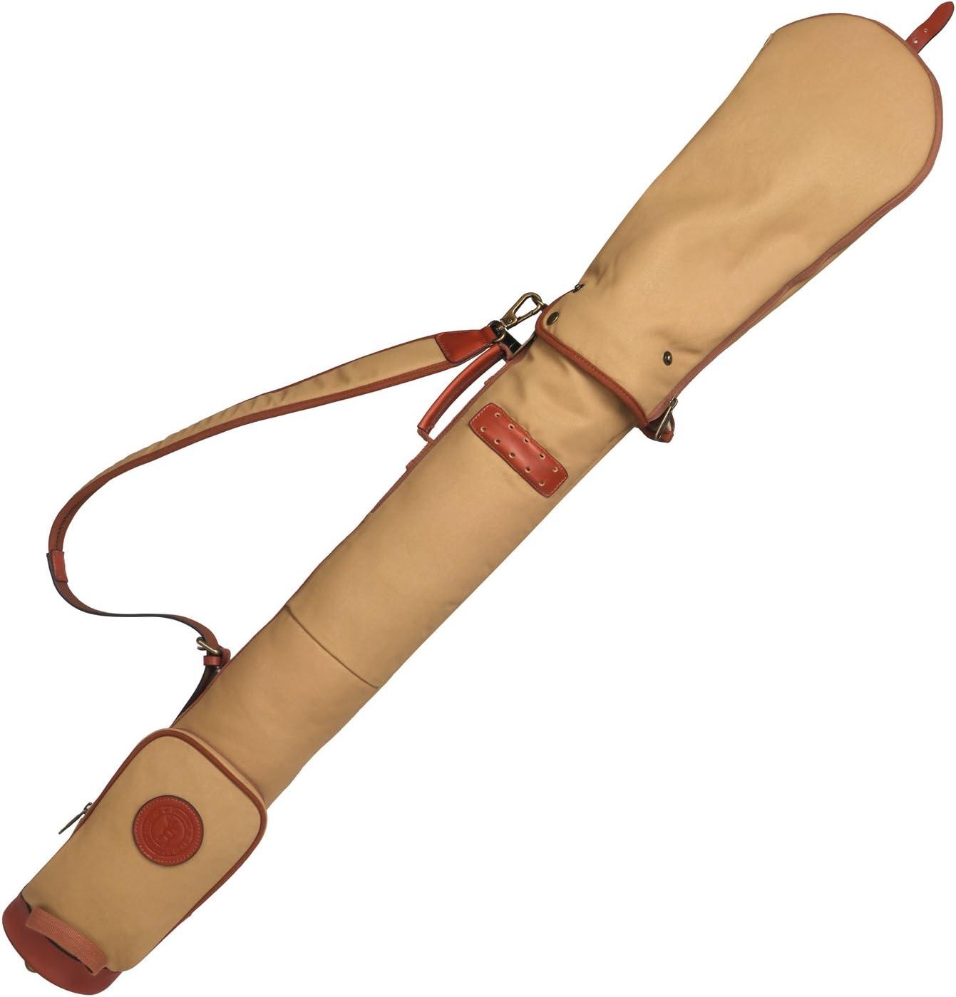 TOURBON Impermeable de la lona del campo de entrenamiento de la práctica del golf del club lleva el caso del viaje del bolso con la correa acolchada suave del hombro