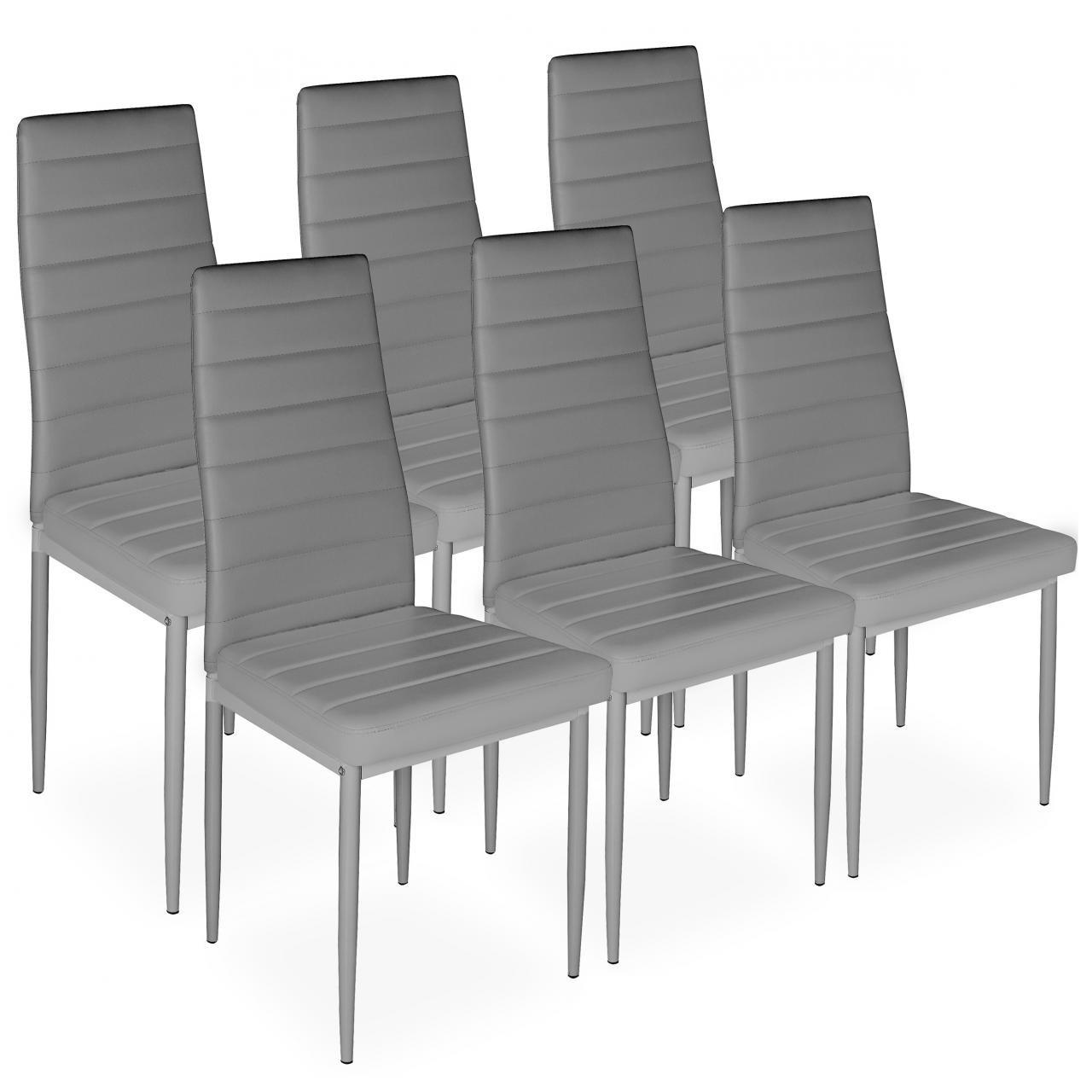 Various Stuhl Esszimmer Leder Ideas Of Homelux 6er-set Stühle Esszimmerstühle Polsterstuhl (t X