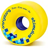 Orangatang Stimulus 70 mm Freeride Longboard Skateboard Wheels (Set of 4)