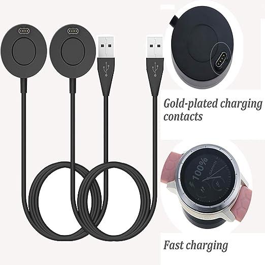 For Garmin Instinct Approach Quatix Vivoactive  USB Data Cable Dock Charger