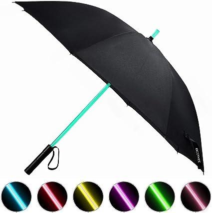 itscool Ombrello Luci 24 LED ricaricabile ad alta luminosità. Parasol Luci