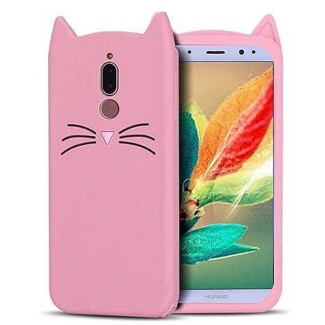 nuovo concetto 6a41a c77d7 RosyHeart Cover Huawei Mate 10 Lite, Custodia Mate 10 Lite ...