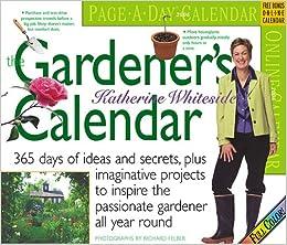 The Gardener S Calendar 2006 Katherine Whiteside Richard Felber