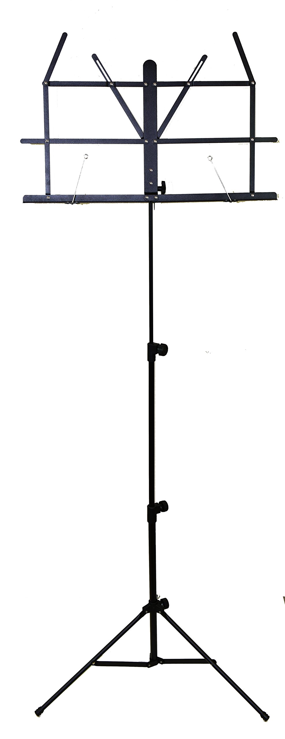 Hisonic Signature Series 7121 Two Section Folding Music Stand with Carrying Bag by Signature Music Instruments (Image #2)