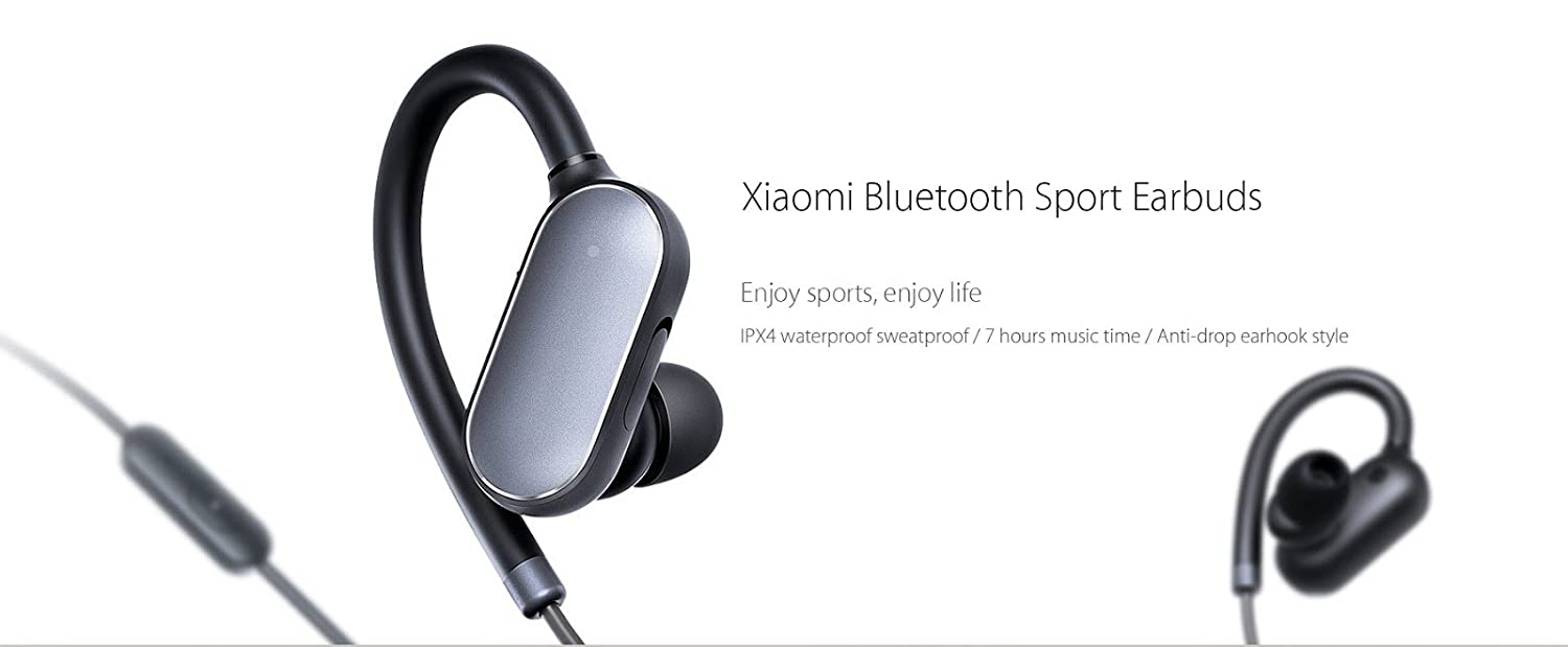 Xiaomi Mi Sports Bluetooth Earphones Black: Xiaomi: Amazon.es: Electrónica