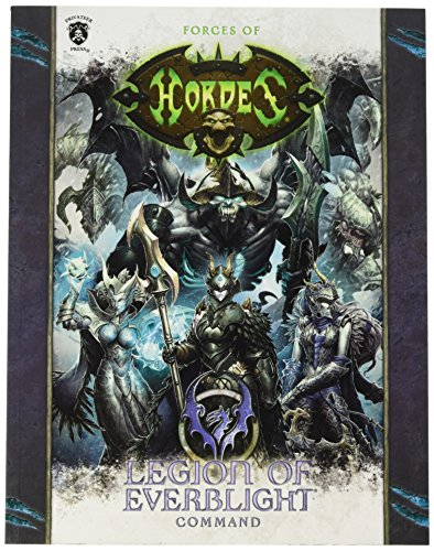 Privateer Press Hordes Forces of Hordes Legion of Ever Blight Command Sc (Book) Kit