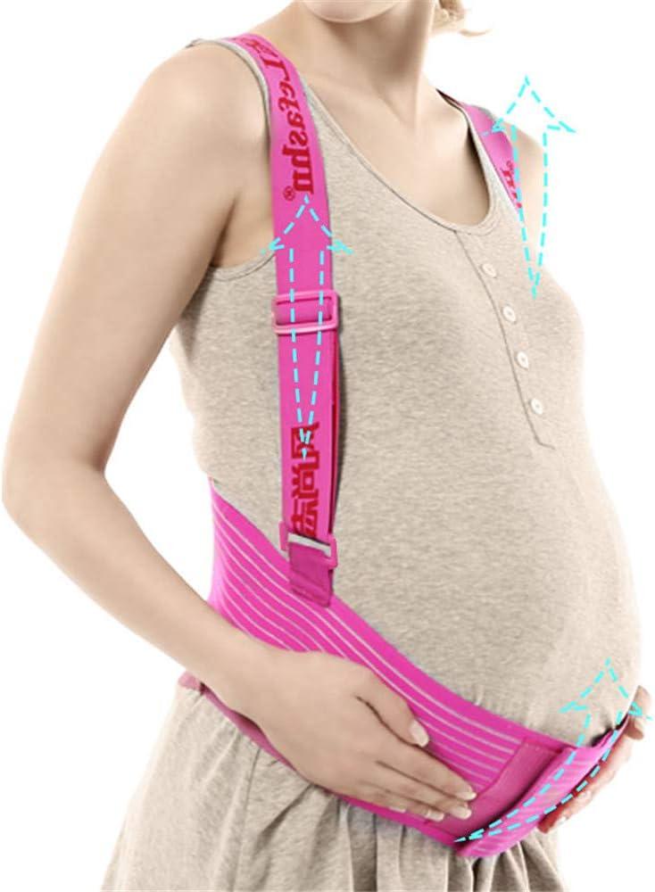 Embarazo Cintur/ón con Correa de Hombro Ajustable Lvbeis Cintur/ón de Maternidad Apoyo Durante el Embarazo Cintura y Abdomen Faja de premam/á,Cintur/ón P/élvico Postparto