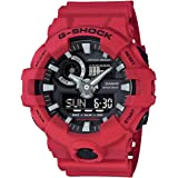Casio Mens Quartz Watch, Analog-Digital Display and Resin Strap GA-700-4A