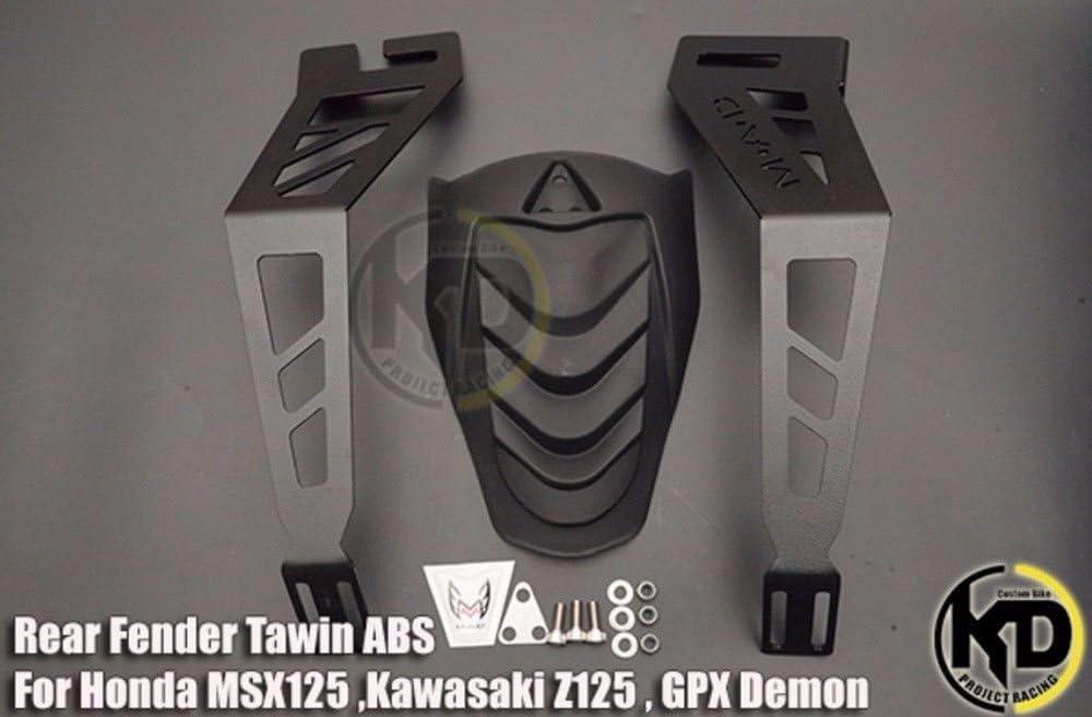 Rear Fender Splash Guard Mudguard for Honda Grom MSX All Model 2013-2019 Kawasaki z125 All Model SSR Razkull 125