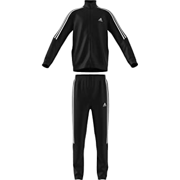 a001f3a5b adidas Kids Tiro Tracksuit, Children's, BJ8460, black/white, 146 ...