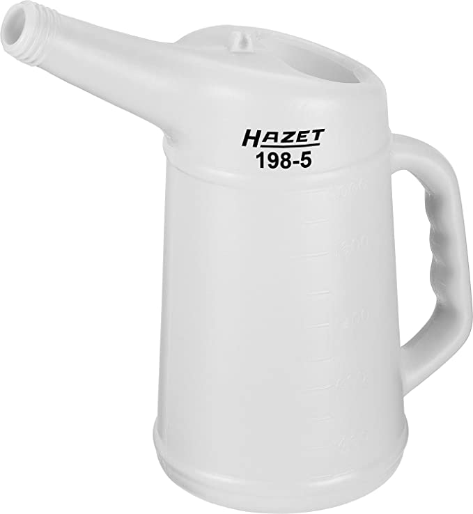 2 opinioni per Hazet 198-5 Bicchiere Dosatore, Argento