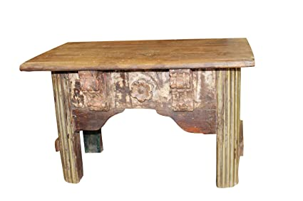 Tremendous Amazon Com Mogul Interior Antique Indian Coffee Table Inzonedesignstudio Interior Chair Design Inzonedesignstudiocom
