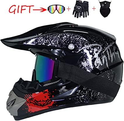 Amazon.es: SK_LBB - Casco de Motocross para niño, para BMX, Quad ...