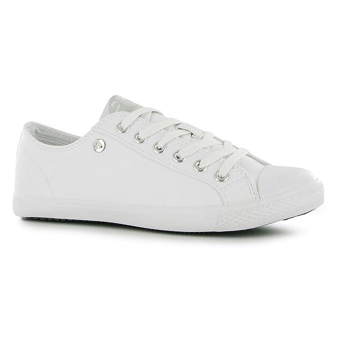 6ced89be3a134 Dunlop Women Micro Lo Pro Lds00 White UK 5 (38): Amazon.co.uk: Shoes ...