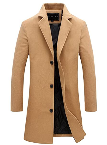 Cappotto Camel Benibos Abbigliamento Xl Uomo it Amazon f6dxCqzw