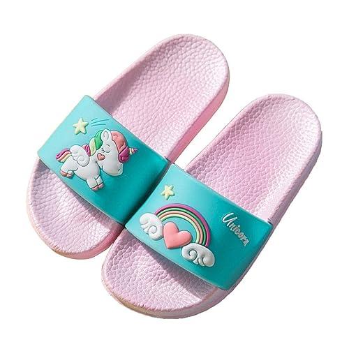 Boys Girls Unicorn Slide Sandals