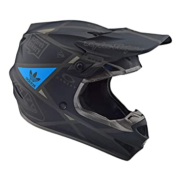 Troy Lee Designs 2019 SE4 polyacr ylite Metric Negro Casco Motocross Enduro