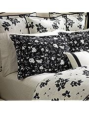 Ralph Lauren Port Palace Black Floral European Pillow Sham