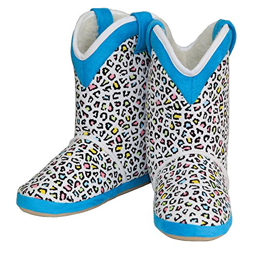 - CicciaBella Cowgirl Boots Women's Multi Leopard (Medium)