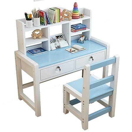 Study table JION Juego de Escritorio y Silla para niños, Mesa de ...