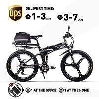 RICH BIT RT860 250W 36V 12.8Ah LG Li-Batterie Vélo électrique Montagne Vélo VTT E-Bike 21 Vitesses Shimano 26 Pouce Vélo Pliable