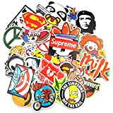 Sticker Pack (200-Pcs), Neuleben Graffiti Sticker Decals Vinyls for Laptop,Kids,Teens,Cars,Motorcycle,Bicycle,Skateboard Luggage,Bumper Stickers Hippie Decals bomb Waterproof
