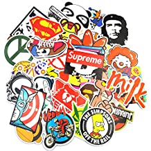 Sticker Pack (200-Pcs) Graffiti Sticker Decals Vinyls for Laptop,Kids,Teens,Cars,Motorcycle,Bicycle,Skateboard Luggage,Bumper Stickers Hippie Decals bomb Waterproof