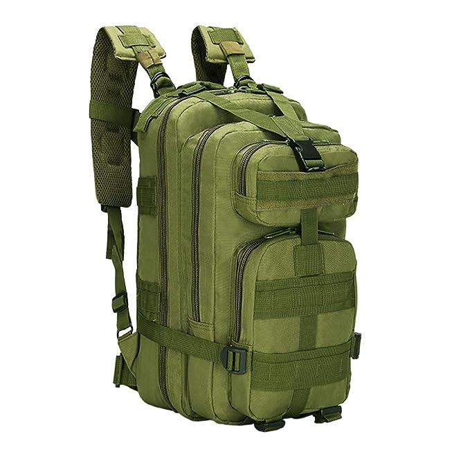 Military Tactical Hiking Camping Backpack Bag Outdoor Trekking Rucksack 3P 30L