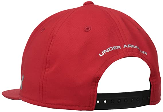 Amazon.com: Under Armour Mens Avengers Ironman Snap Back Cap, Red (600)/Metallic Silver, One Size: Sports & Outdoors