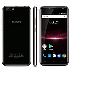CUBOT Magic Smartphone 4G Android 7.0 MT6737 Quad Core Rear Dual Cameras 3GB RAM +16GB ROM 5.0 Inch HD Curved Display-Oro