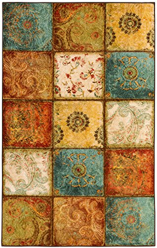 Mohawk Home 11493 416 060SET Mohawk Free Flow Artifact Panel Area Rug 5'x8' Set Multicolor