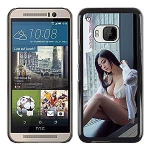 Stuss Case / Funda Carcasa protectora - SEXY JAPONÉS CHICA PIN UP - HTC One M9
