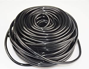 """Blupure 1/4 Inch Drip Irrigation Tubing, 100Ft Blank Garden Automatic 1/4"""" Watering Tube Line Watering Drip Kit for Small Garden Irrigation System"""