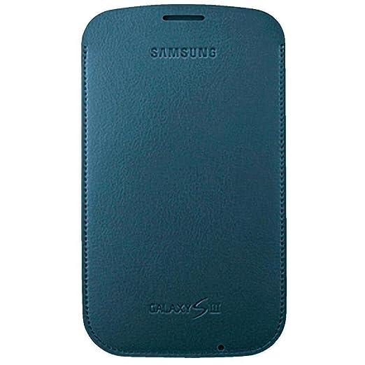 19 opinioni per Samsung EFC-1G6LBECSTD Fondina in pelle per Galaxy S3, Nero