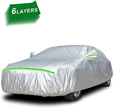 COTTON LINED MERCEDES-BENZ V-CLASS 14-ON LUXURY HEAVYDUTY CAR COVER