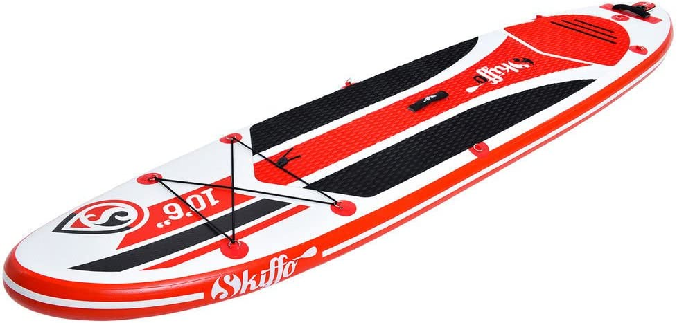 Skiffo LUI 106 Stand UP Paddle Board Inflatable PADDEL PUMPE SUP ISUP 320cm