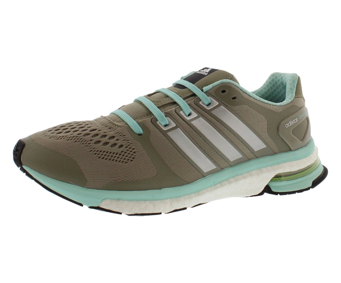 adidas Adistar Boost ESM Women Round Toe Synthetic Gray Running Shoe B00X7PPH6M 7.5 B(M) US|Taupe/Mint