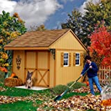 Best Barns Northwood 10′ X 10′ Wood Shed Kit