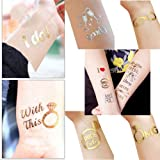 Simuer Bride Tribe Temporary Tattoos Sticker