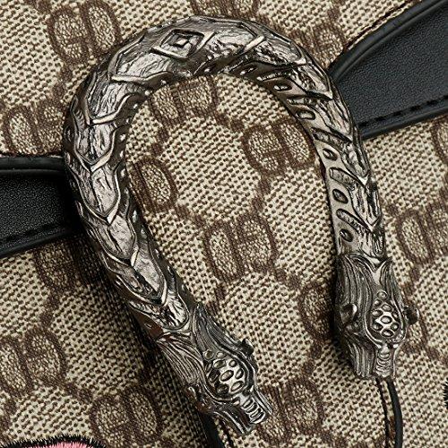 pour handbag SSMYcrossbody Sac femmes noir bandoulière Femme q7B6wxtT