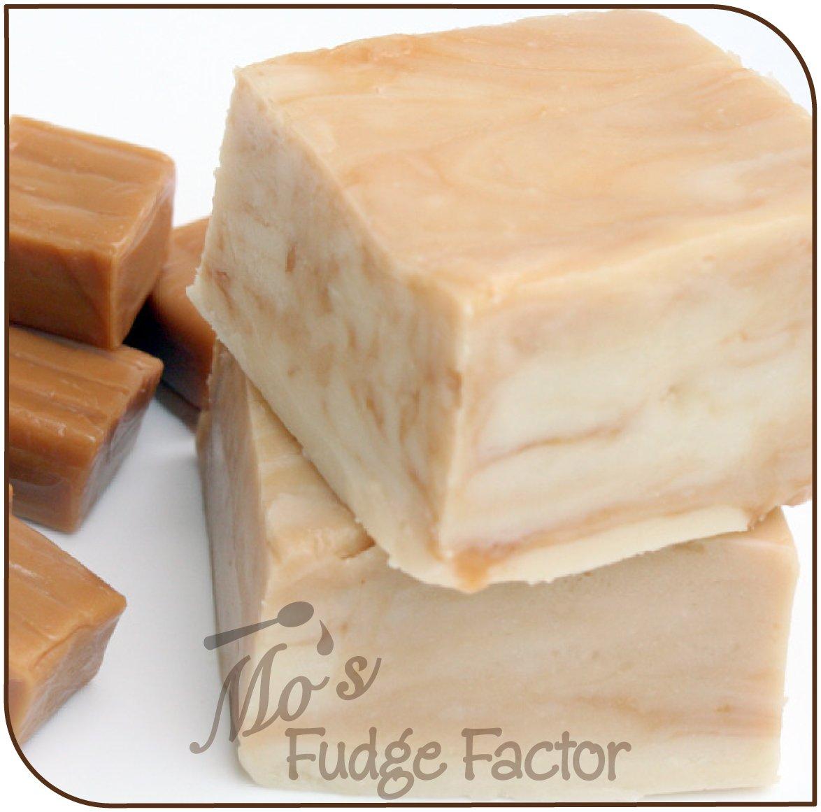 Mo's Fudge Factor, Vanilla Caramel Swirl Fudge 2 pounds