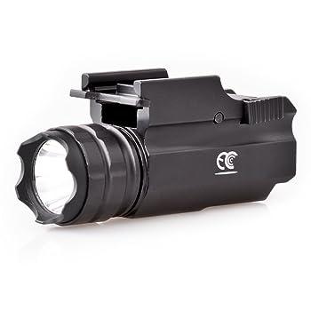 MCCC Rail Mount Tactical Gun Flashlight
