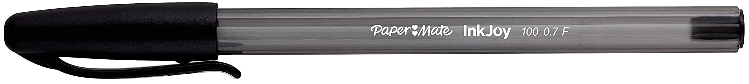 Pack of 20 PaperMate InkJoy 100 CAP Capped Ball Pen with 1.0 mm Medium Tip Assorted Standard Colours 7