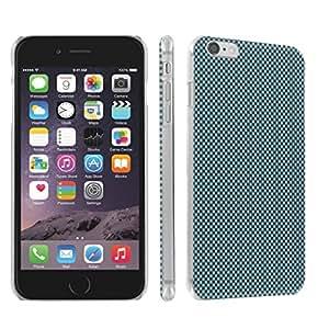 Skinguardz Iphone 6 Plus (5.5) (Blue Space) Ultra Slim Light Weight Plastic Cover Case