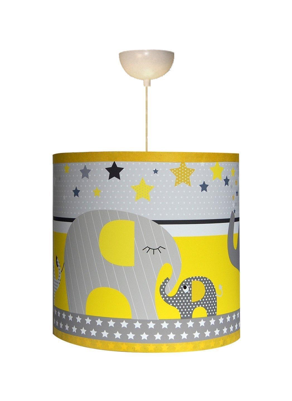 Luminaire enfant Suspension ' Le défilé des éléphants'