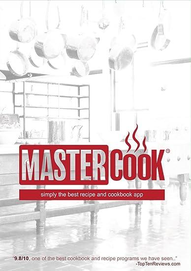 amazon com mastercook 15 recipe pc