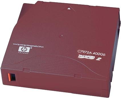 HP C7972A LTO-2 Ultrium Data Cartridge 400GB lot of 5 tapes