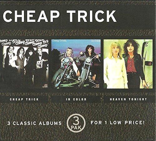 3 Pak: Elegant Cheap Trick Heaven Trust In Color Tonight