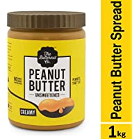 The Butternut Co. Peanut Butter Unsweetened Creamy Jar, 1 kg