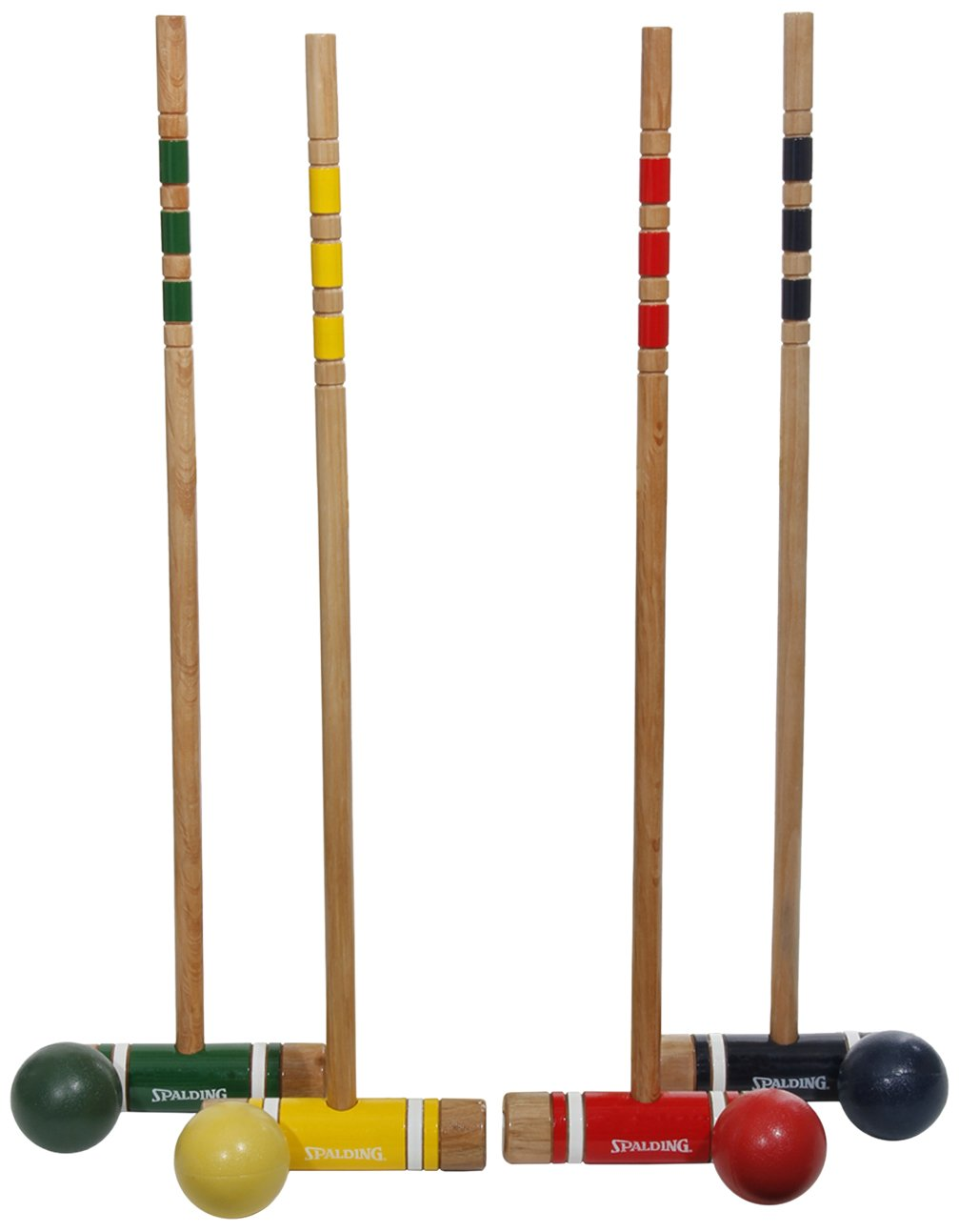 Spalding 4-Player Recreational Series Croquet Set